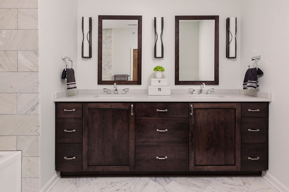 Condo Bathroom Remodel bathroom remodeling - carmel builders