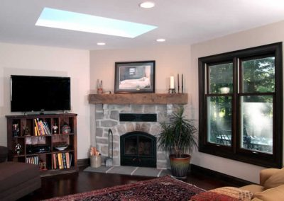 Cedarburg Family Room with Fireplace