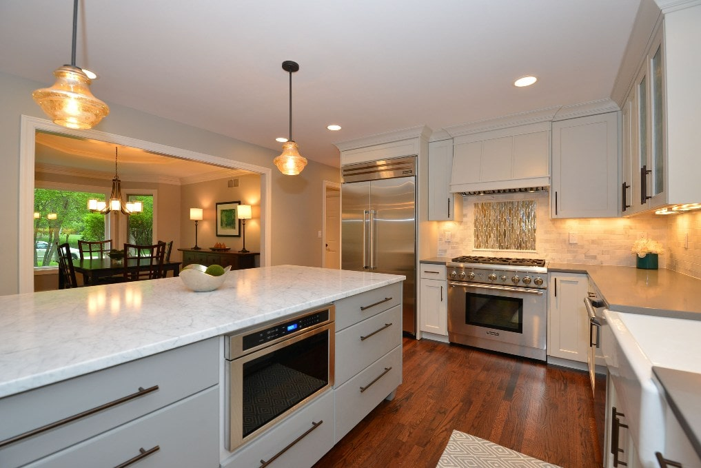Kitchen Remodel with Built in Appliances