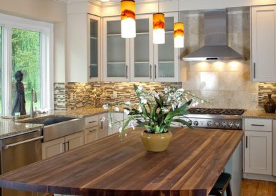 Kitchen Remodeling, Custom Wood Island