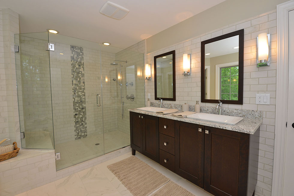 Fascinating 10 master bathroom remodel inspiration of for Bathroom remodel photos