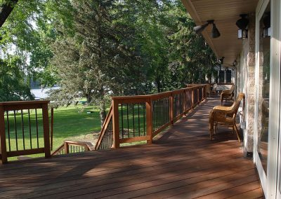 West Bend Full Deck Addition