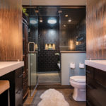 master-bath-shower-remodel-award-win-dark-tile-solatube-fur-rug