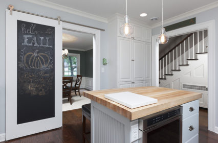 barndoor-remodel-chalkboard-custom-built-in-dishwasher