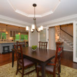 crown-molding-French-doors-open-concept-dining-mequon