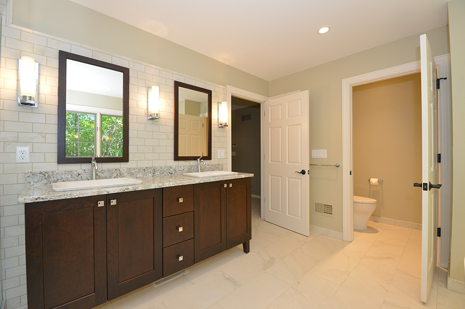 double-sink-custom-built-vanity-wall-sconces-mequon-master-bath-remodel