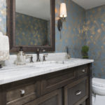 marble-counter-top-wallpaper-tile-floor-sconce-remodel-ozaukee