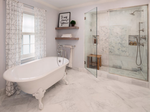 Whitefish Bay Traditional Master Bathroom