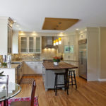 Oak-hardwood-floors-painted-cabinets-milwaukee