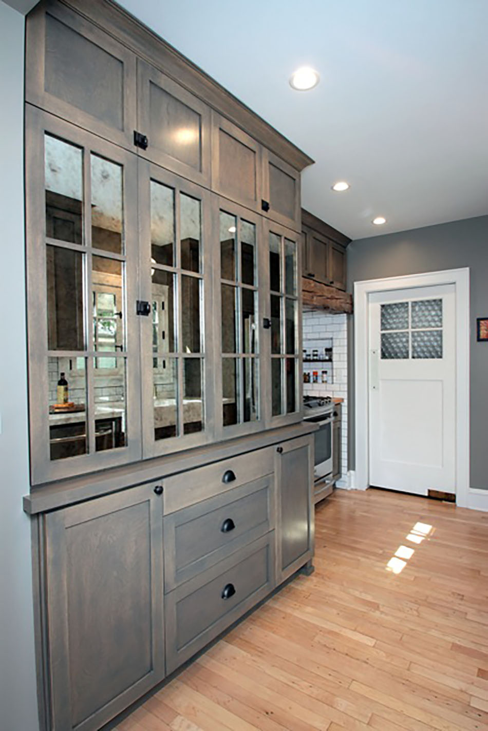 painted-wood-hutch-glass-panels-milwaukee