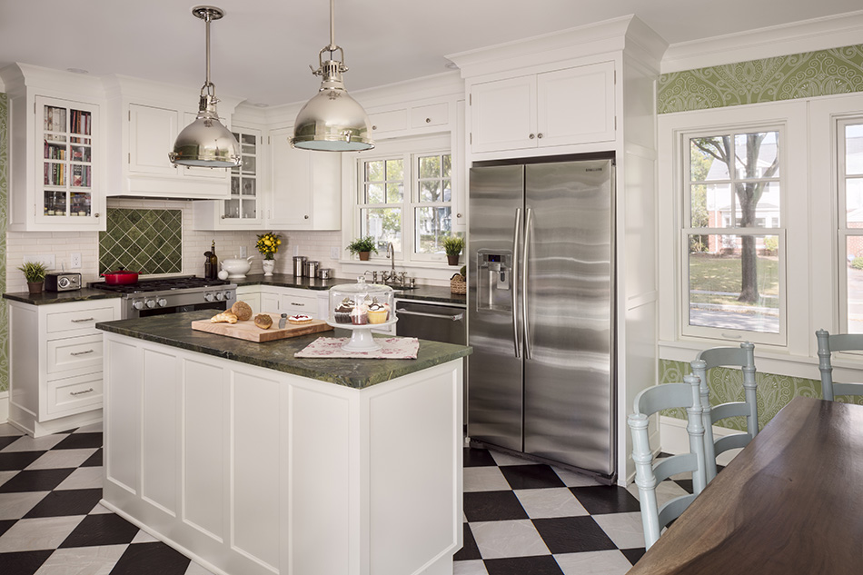polished-nickel-clean-touch-refrigerator-apron-sink-bridge-faucet-kitchen-milwaukee
