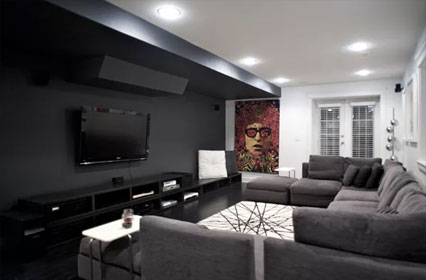 Theaters / Media Rooms – Space for Family, Friends & Entertaining