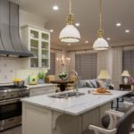 Artisan-stainless-steel-pull-down-kitchen-faucet-pendant-lights-northshore